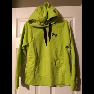Under Armour Lime Green Storm Hoodie